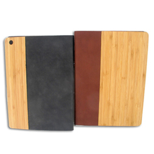Leather wood phone case for iPad 5 , flip wood cover newest cheap wood phone shell