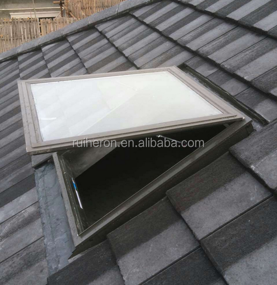 Roof Skylight window Loft skylight Windows Customized Aluminium Skylight Window