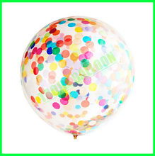 36 inches Latex confetti Balloons,Giant balloons confetti