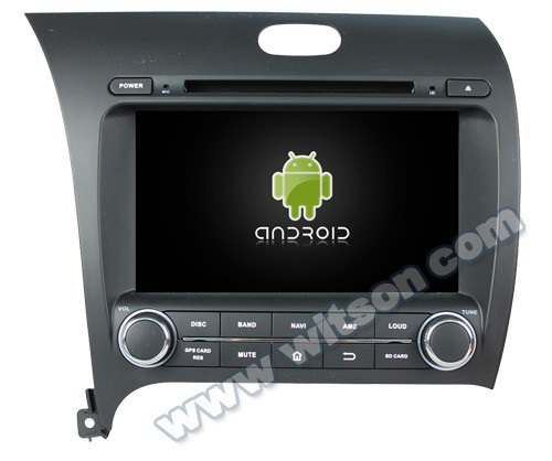 WITSON ANDROID 4.2 CAR DVD WITH GPS FOR KIA K3 2013 WITH A9 DUAL CORE CHIPSET 1.6GHZ FREQUENCY STEERING WHEEL SUPPORT RDS