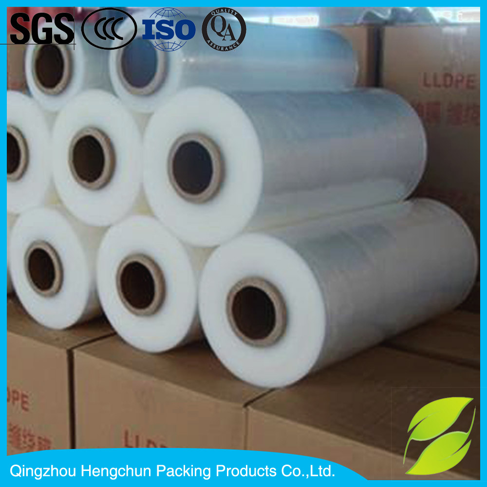 Biodegradable transparent shrink wrap film