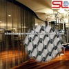 Fashionable Decorative metal curtain used for hotel and restaurant