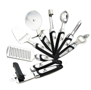 Kitchen Gadget Tool Set 8 Piece Stainless Steel Kitchen Utensil