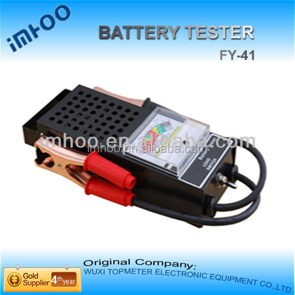 Car Battery Tester FY-41 battery powered industrial vacuum cleaner