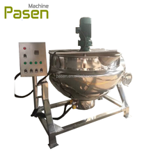 Industrial Jam Jacket Kettle With Agitator / Mixing Jacket Pot For Paste / Electrical Jam Processing Cooker