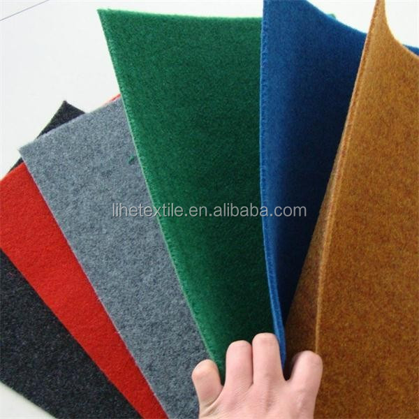 high quality low price stripe exhibition carpet with 100% Polyester