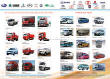 CHINESE BUS high quality auto spare parts car for Aftermarket Repair
