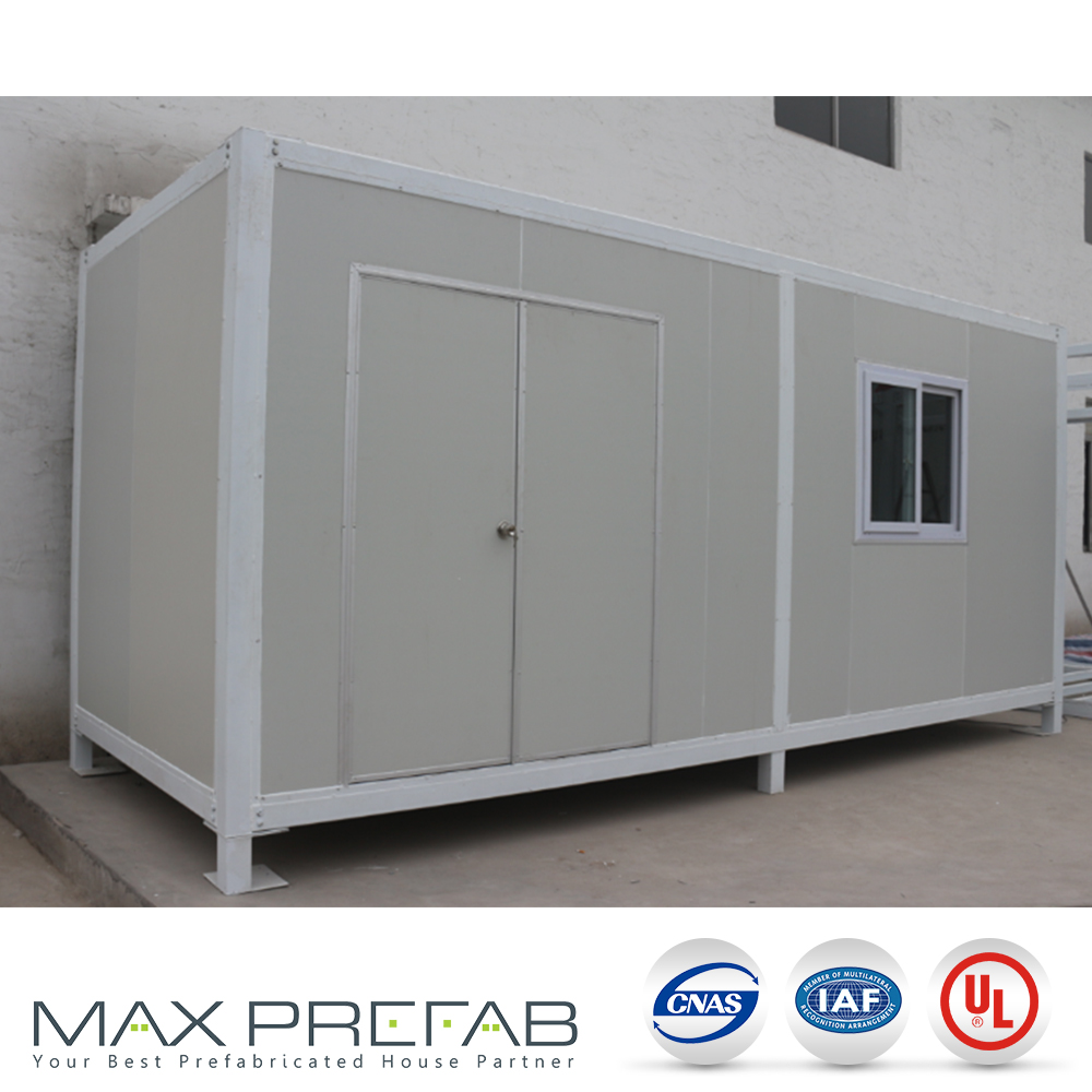 SC0624 trailer houses tiny single bedroom prefab container house for site office