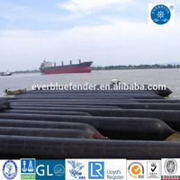 Marine Rubber Fish Boat Launching Airbag Tube Salvage Airbag For Sale