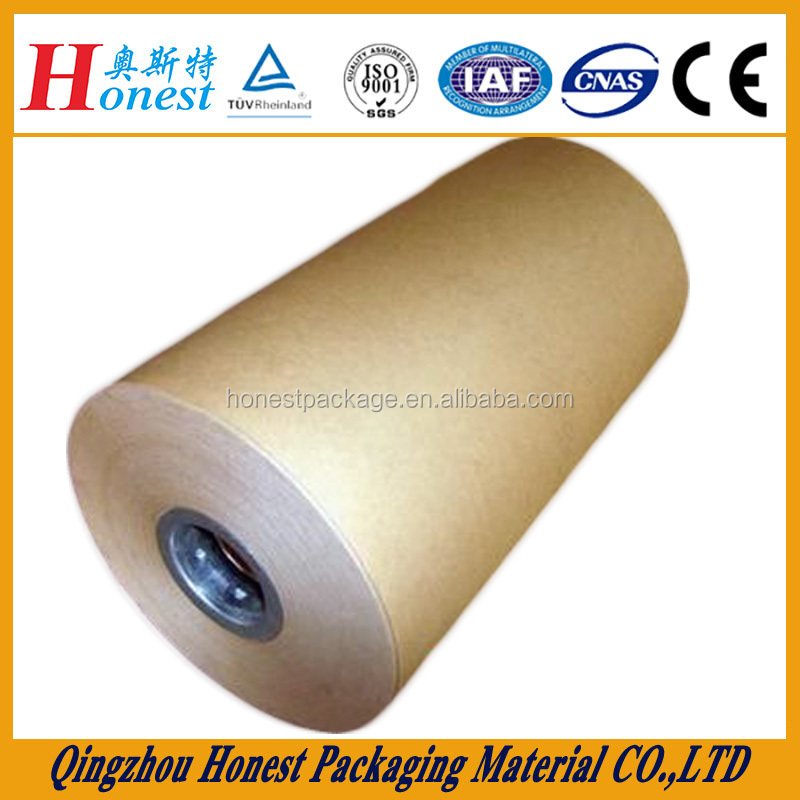 greaseproof PE coated bleached kraft paper for food packaging