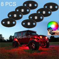 8 Pods Multicolor Neon LED Light
