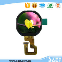 Round lcd display panel MCU interface full viewing angle TFT screen