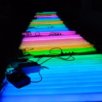 dimmable color changing led tube RGB t5/T8 led tube t8 multicolor led tube lighting