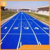 Athlete Playground school rubber running track