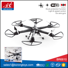 new fast remote control wifi camera hd professional drone long distance with led light BR6810