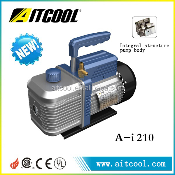High performance integral structure pump body low speed low noise 2 stage rotary vane vacuum pump A-i210