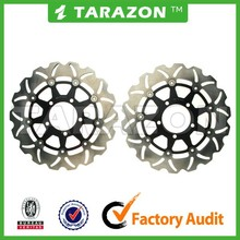 Motorcycle 310mm Front Floating Drilled Brake Disc Rotor For Kawasaki ZX14R