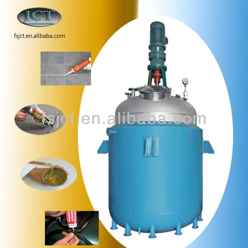rubber adhesive bonding agent reactor machine