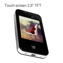 Touch screen digital mp3 mp4 mp5 player manual support 32-bit game
