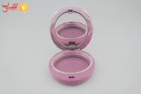 Wholesale Plastic custom empty compact make up container makeup container/cosmetic packaging