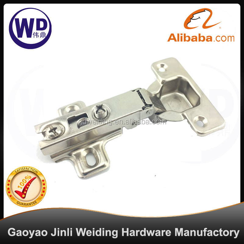 Cabinet Hinge CH-0201 Full Cover Slide On Two Way Cold-Rolled Nickel Plated