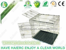 Haierc Chinese Supplier Small Animal House Dog Cage Stainless Steel Dog Cage