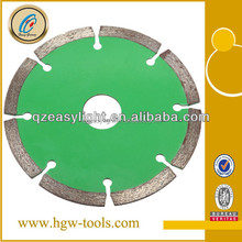 Diamond Blade Material and Ti-coated Finishing diamond concrete wall saw blade