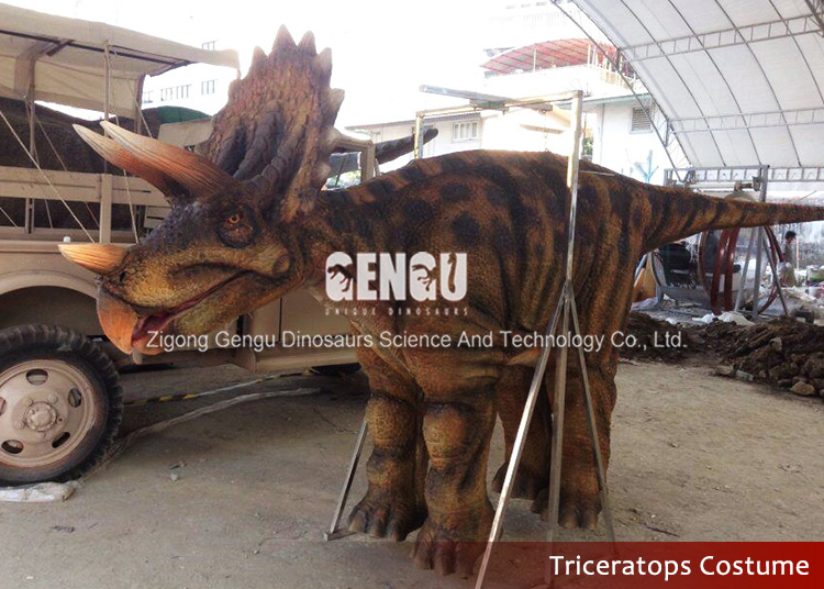 Import Animatronic Dinosaur Costume Making