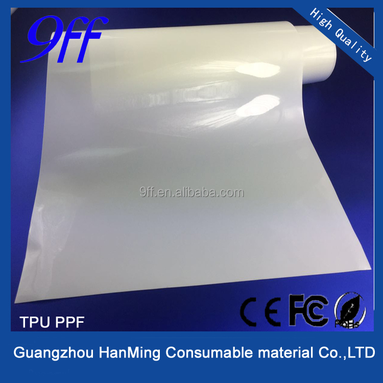 High quality Automatic Repair Scratch Transparent PPF Self Adhesive Clear Car Paint Protection TPU Film