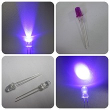 365nm 375nm 395nm round 3mm 5mm uv led diode