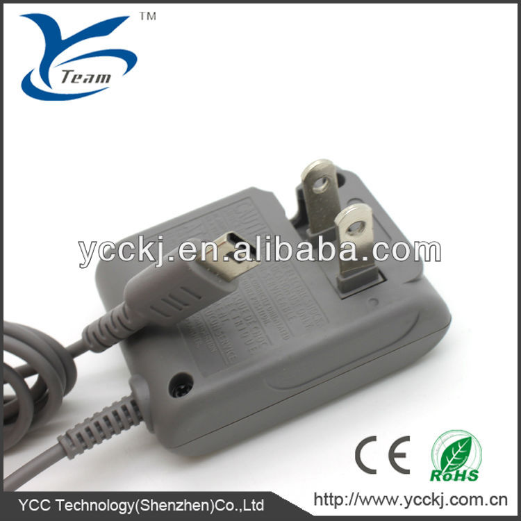 2014 new products ! game replacement parts for Nintendo video game travel charger for ndsl competitive price