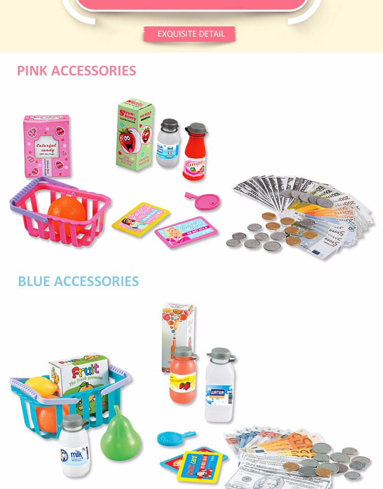 Pretend Play Supermarket Toys for Kids