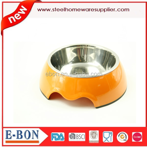 2015 Stainless steel pet feeders for dog and cat dog bowls