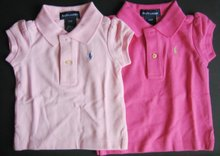 Branded Kidswear Girls Polo Tees