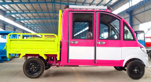 2017 new battery operated electric pickup/cargo van/four wheels motorcycles/gasoline cyclomotor/vehicles/voiture 41000018
