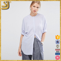 Ladies new design women clothing cheap oversized batwing blouse