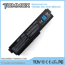 6 cell laptop battery pa3817u-1brs for toshiba C600D, L750, L700, A660, A660D, A665, A665D, C675