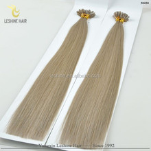 Good Feedback Italian glue Wholesale Virgin Double Drawn Cheap u tip i tip extension tools
