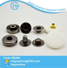 plastic snap button machine snap on buttons garment button