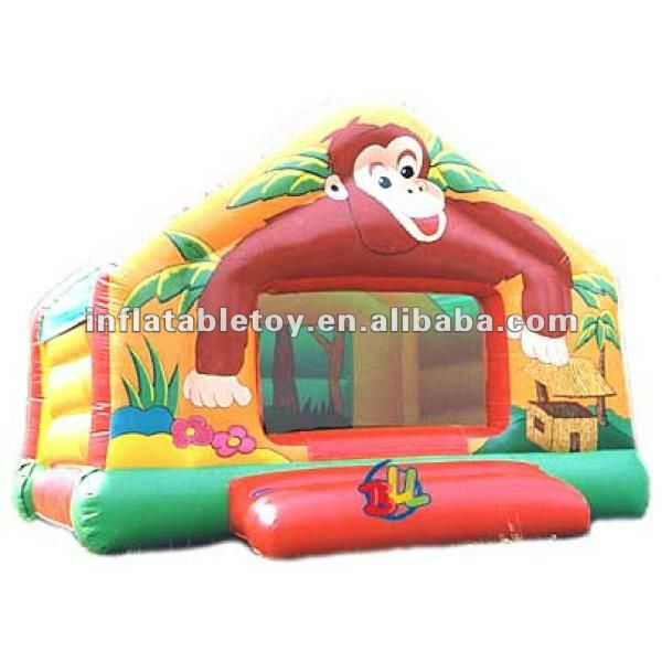 inflatable Jungle Jim Party Bounce