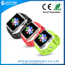 Sentar Latest product bluetooth smart watch phone with high chipset mtk6260 smart watch cell phone