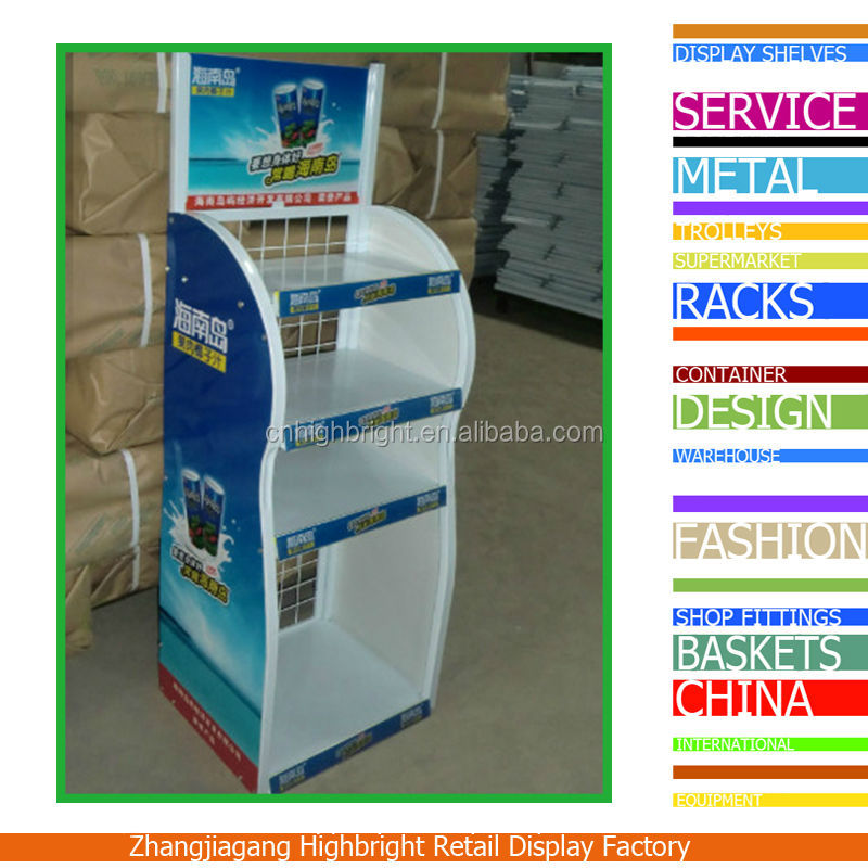Store Nuts / Almond Promotional Display Rack