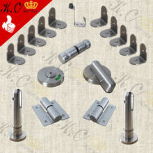 Best sell 304 stainless steel toilet partition cubicle accessories hardware