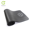 extra thick exercise mat with black strap, nbr material