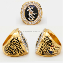 Customized chicago cubs championship ring