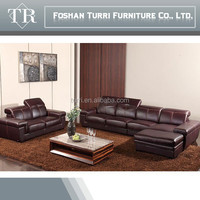 high quality Italy leather luxury living room furniture sofa