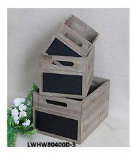 Wholesale Shabby chic antique vintage recycled wood fruit crates