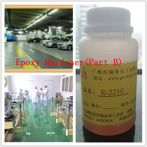 Chinese Manufacturer Yellow Liquid Epoxy Flooring Middle and Primer Coating Epoxy Resin and Hardener