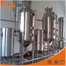 fruit juice stainelss steel vacuum concentration evaporator