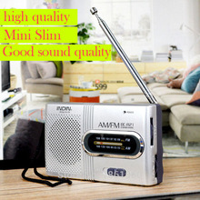 World Universal Portable Pocket AM/FM Radio from China mini handheld all band Player Set Built in Speaker small Receiver BC-R21